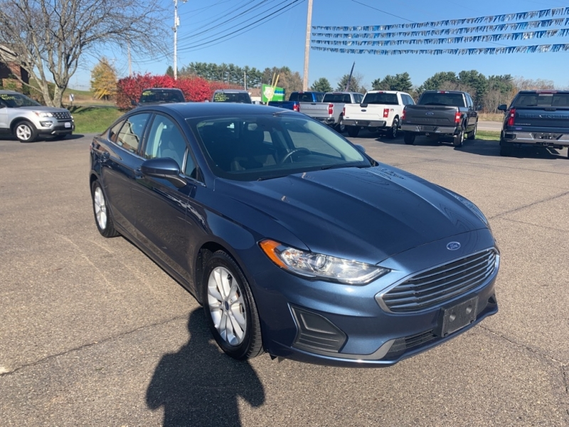 FORD FUSION 2019 price $15,988