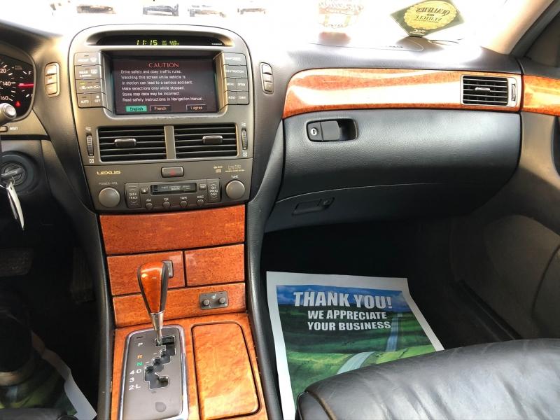 Lexus LS 430 2002 price $4,600