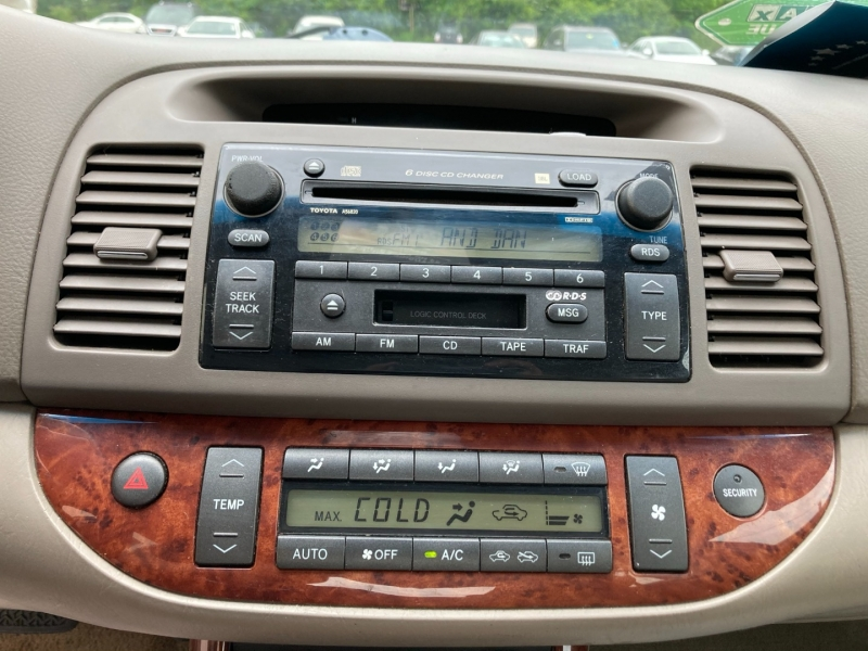 Toyota Camry 2002 price $4,400