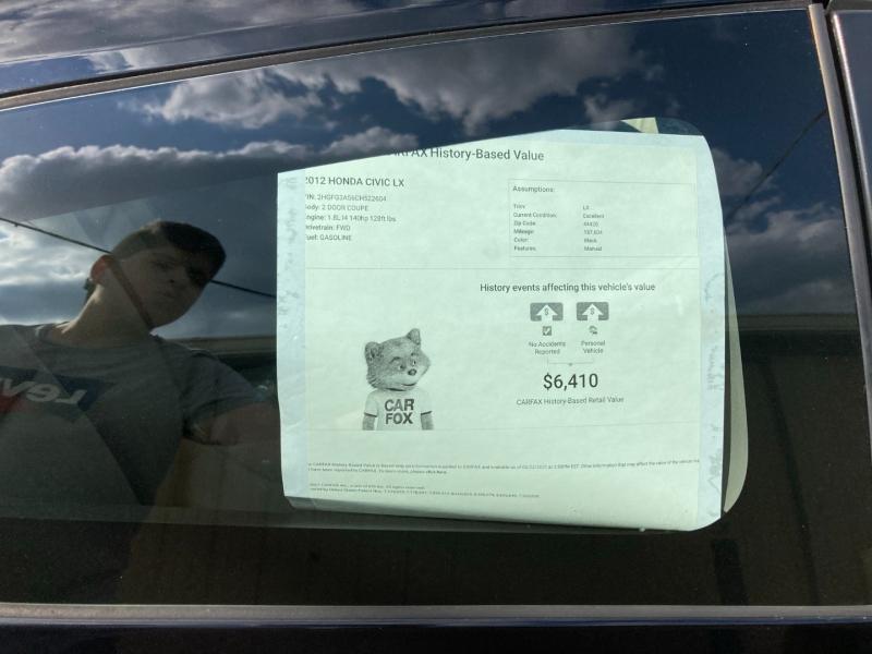 Honda Civic 2012 price $5,300