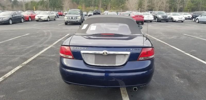 Chrysler Sebring Conv 2005 price $2,900