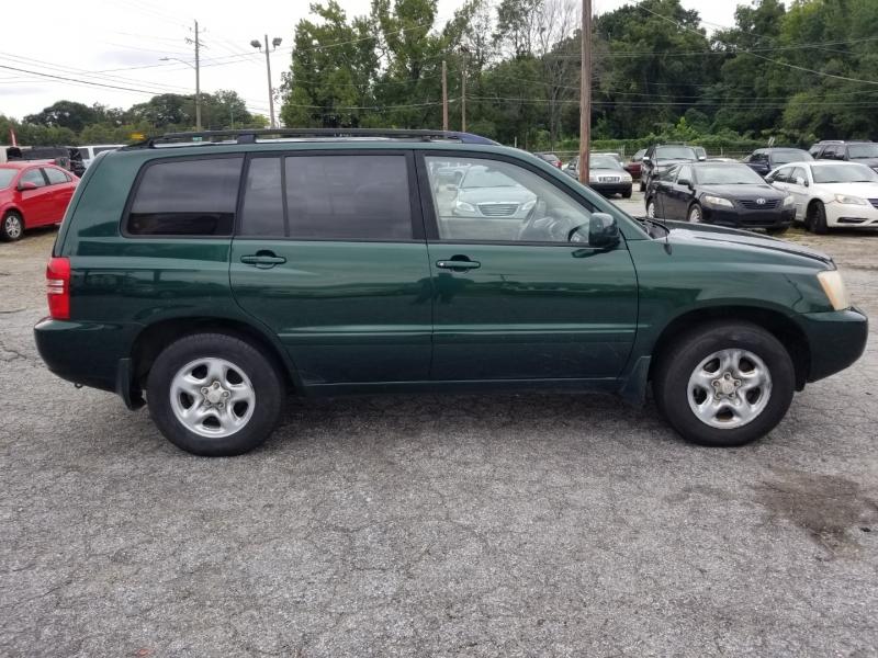Toyota Highlander 2002 price $5,000