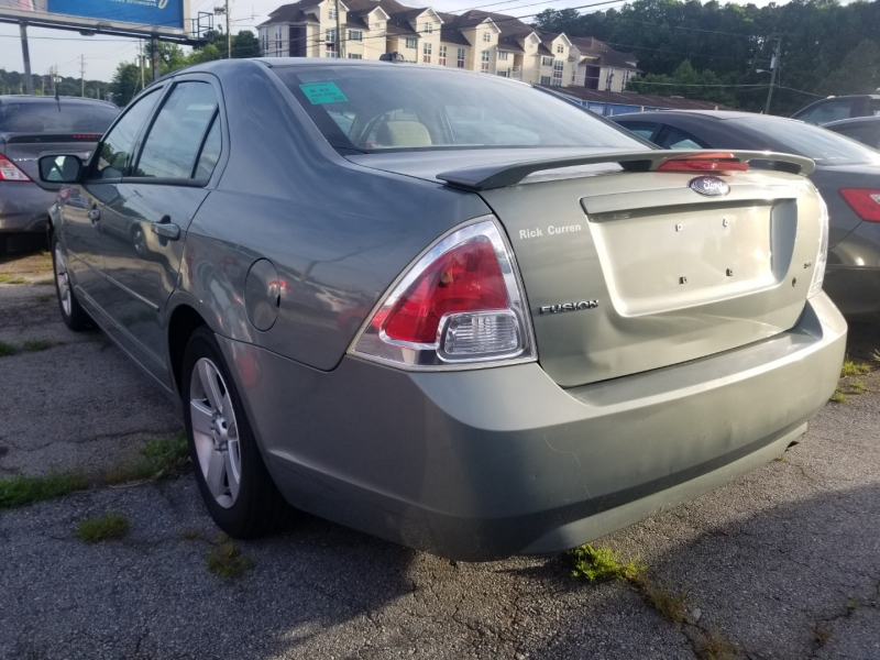 Ford Fusion 2008 price $6,000