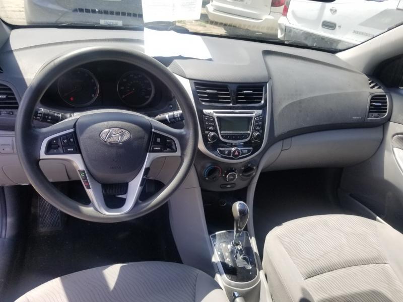Hyundai Accent 2012 price $7,000