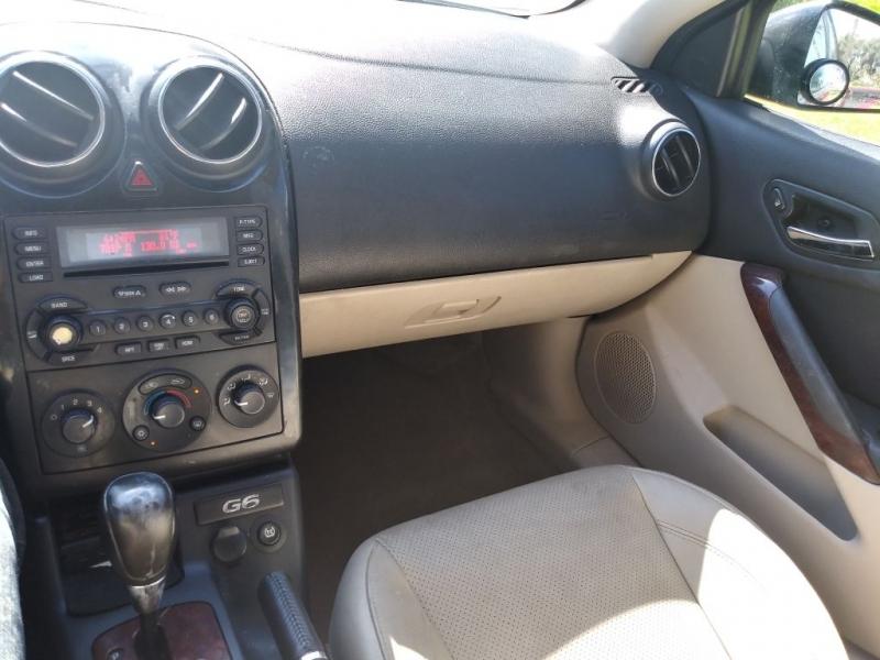 PONTIAC G6 2005 price $2,900