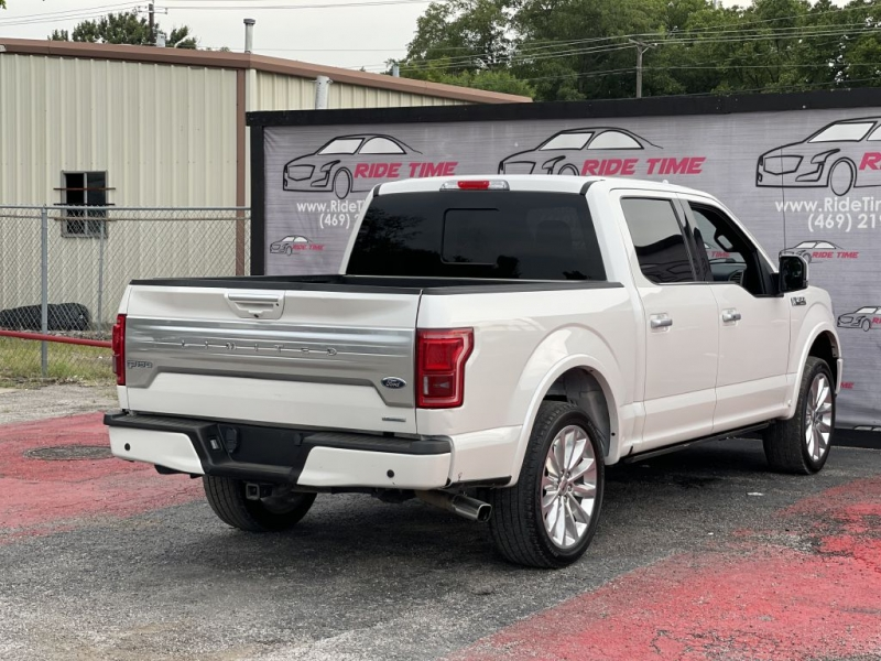 FORD F150 LIMITED 2018 price $34,499