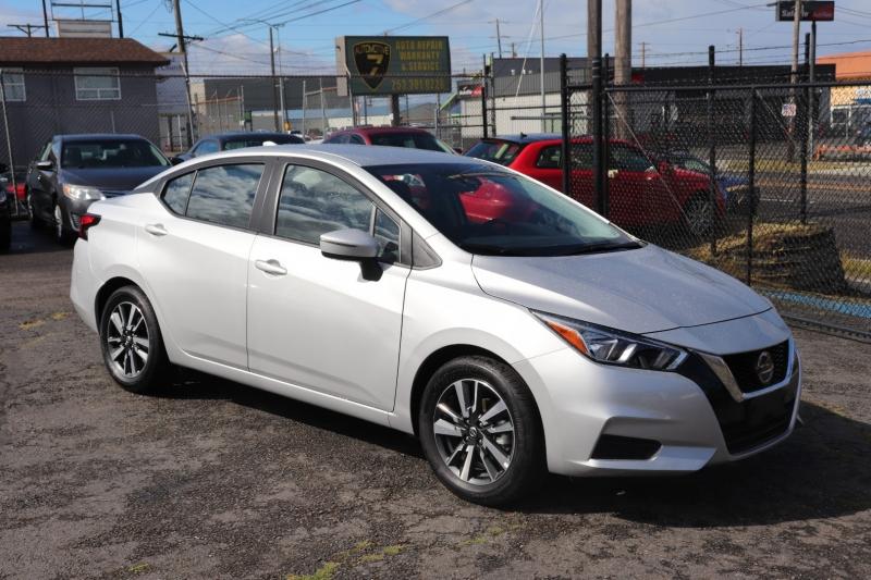 Nissan Versa 2021 price $16,950