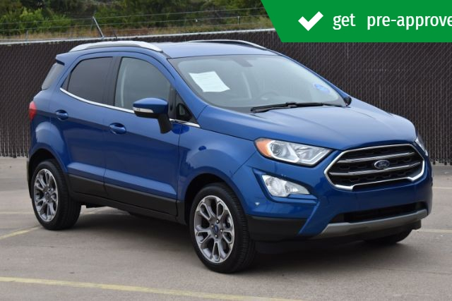Ford EcoSport 2019 price $18,299