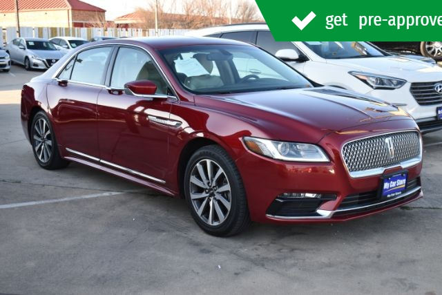Lincoln Continental 2017 price $23,490