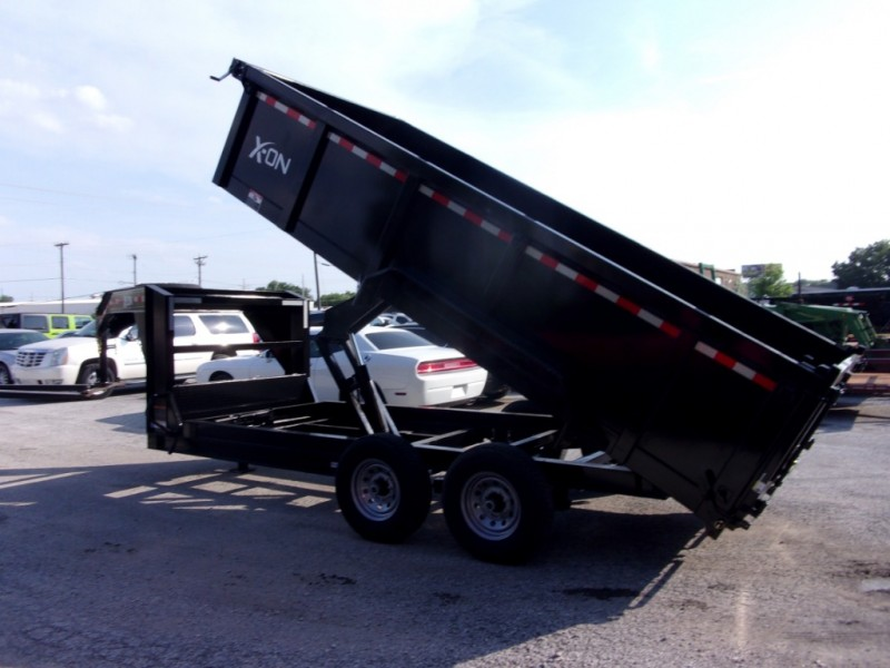 X-ON 16X83 GOOSENECK DUMP 2019 price $9,295
