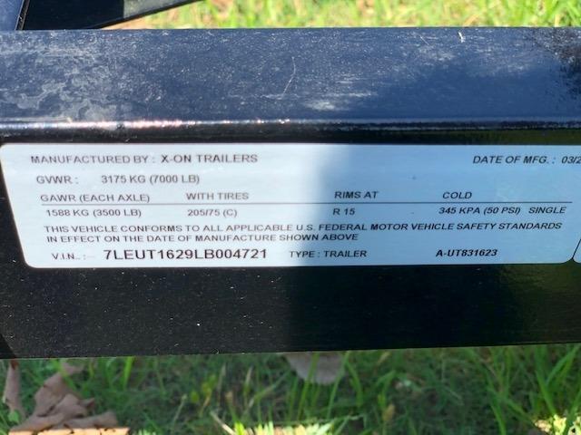 X-ON 16X83 UTILITY TRAILER 2020 price $2,895
