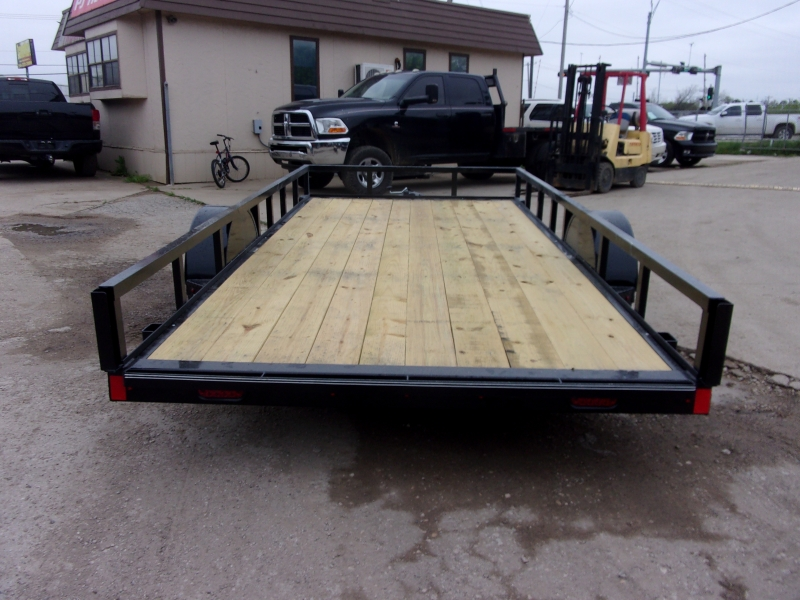 X-ON 14X77 UTILITY TRAILER W SLIDE IN RAMPS 2020 price $1,995