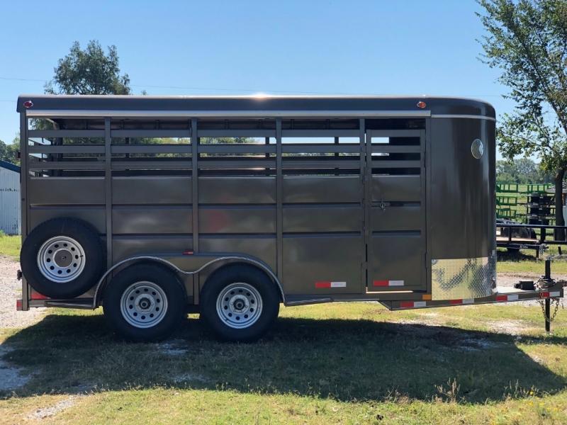 DELCO LIVESTOCK TRAILER 16FT DELCO HORSE TRAILER 2020 price $7,995