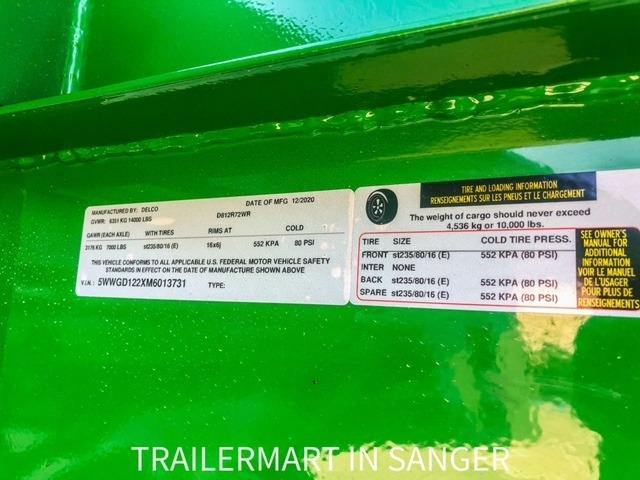 Delco Trailers 12X83 GOOSENECK DUMP 2021 price $8,895