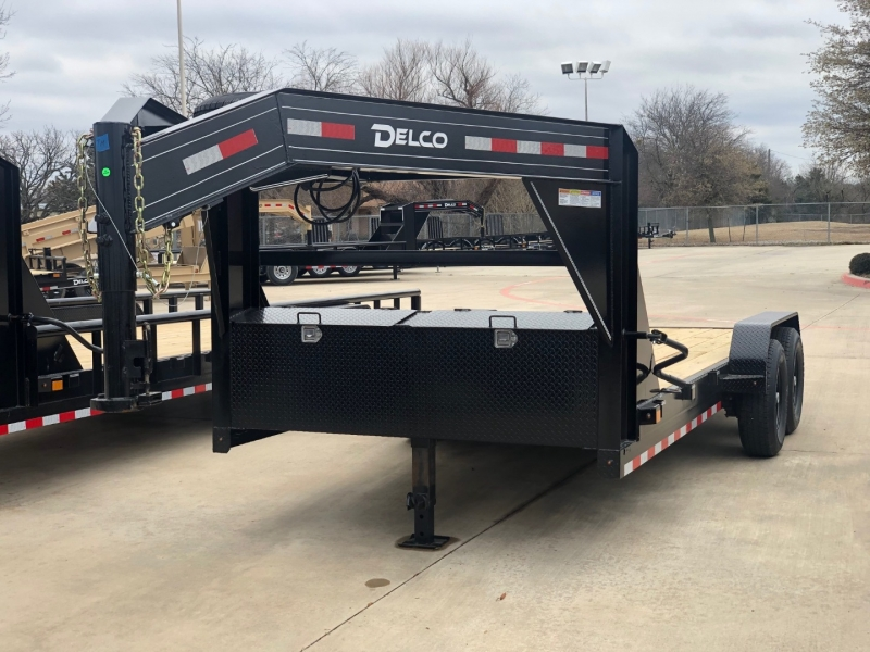 Delco Trailers 18X83 CARHAULER GOOSENECK 7K AXLE 2021 price $5,995