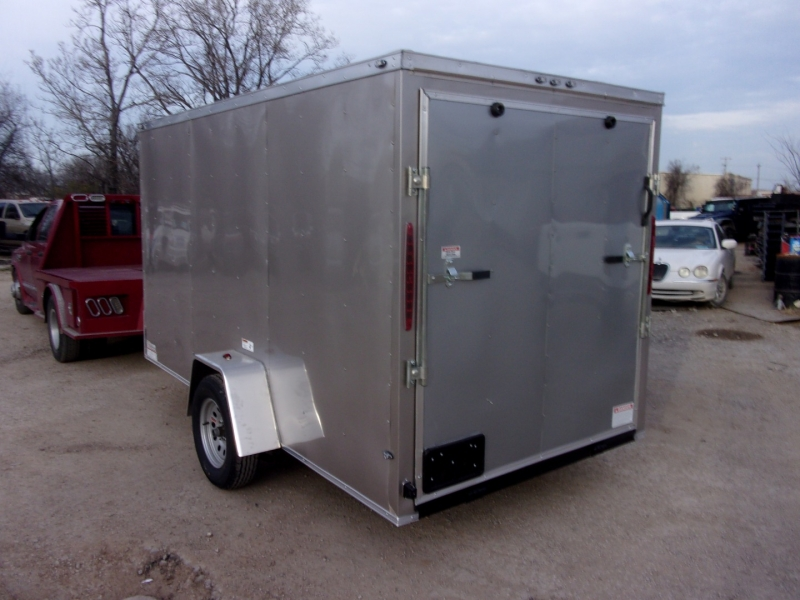 Deep South Trailers 12X7 ENCLOSED SINGLE AXLE 2021 price $3,995