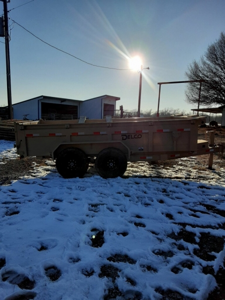 Delco Trailers 14X83 DUMP TRAILER BP-2FT SIDES 2021 price $9,495