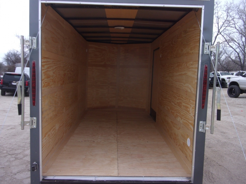 Deep South Trailers 6X12 ENCLOSED TRAILER 2021 price $4,995