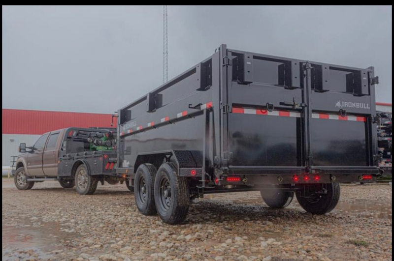 DUMP TRAILERS IRONBULL 12X83X4 GOOSENECK HIGH SIDE 2021 price $11,195