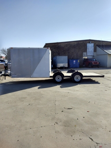ENCLOSED CARGO TRAILERS DEEP SOUTH HYBRID 20X83X5 2020 price $4,995
