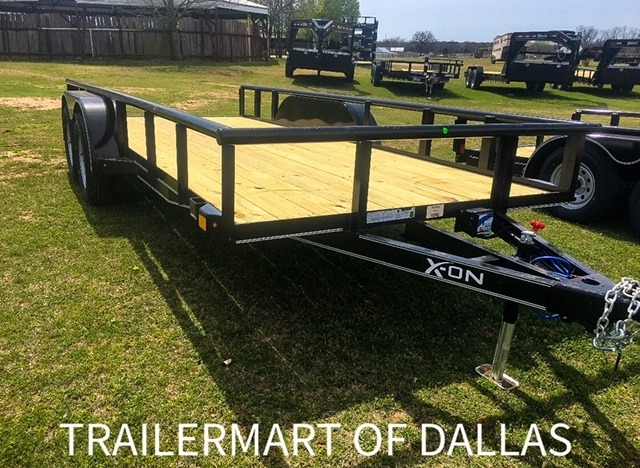 UTILITY TRAILERS DELCO 16X83PIPE TOP UTILITY TRAILER 2021 price $3,995