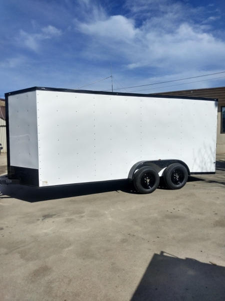 ENCLOSED CARGO TRAILERS DEEP SOUTH 16FT 2021 price $6,995