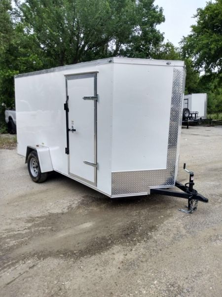 ENCLOSED CARGO TRAILERS DEEP SOUTH 12FT SINGLE AXLE 2021 price $5,499