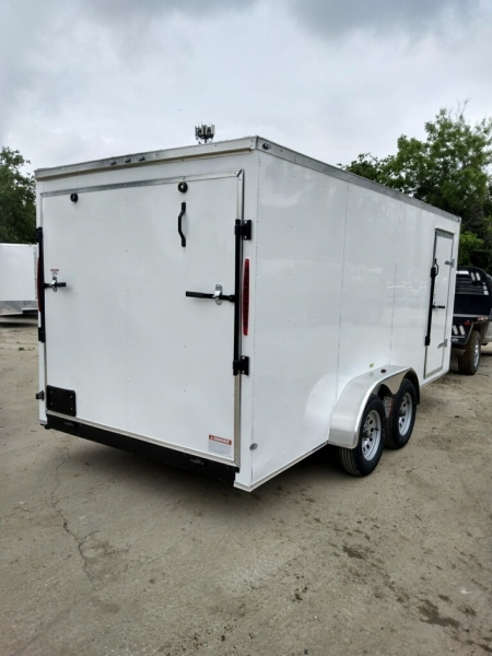 ENCLOSED CARGO TRAILERS DEEP SOUTH 16FT CARGO 2021 price $6,995