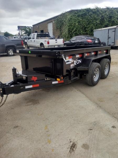 DUMP TRAILER DELCO 10X60 DUMP BUMPER PULL 2021 price $8,995