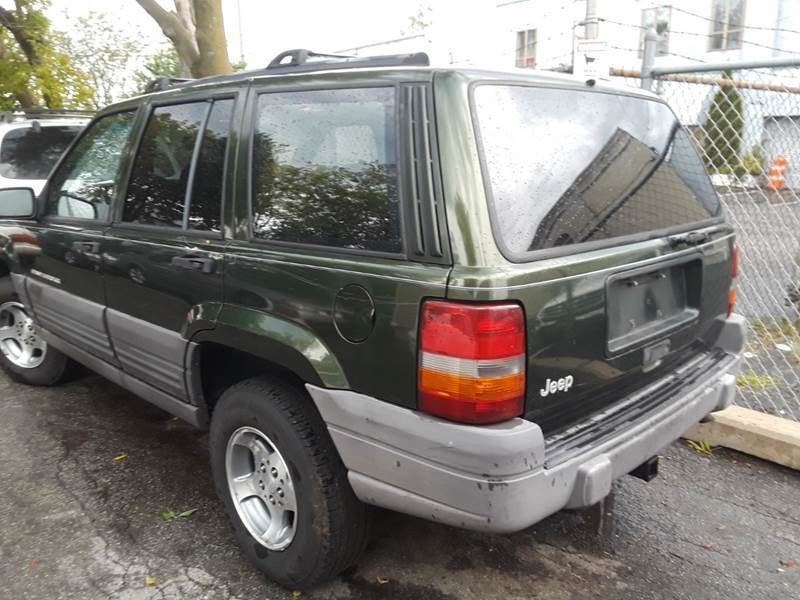 Jeep Grand Cherokee 1996 price $2,100