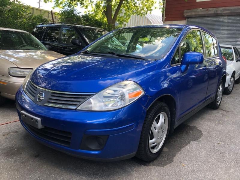 Nissan Versa 2009 price $5,350