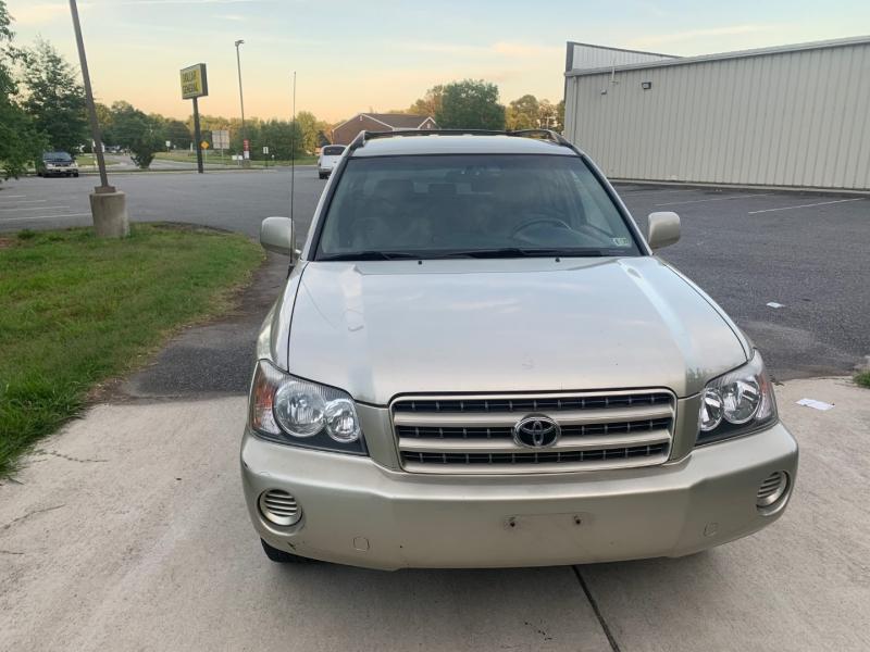 Toyota Highlander 2003 price $4,999
