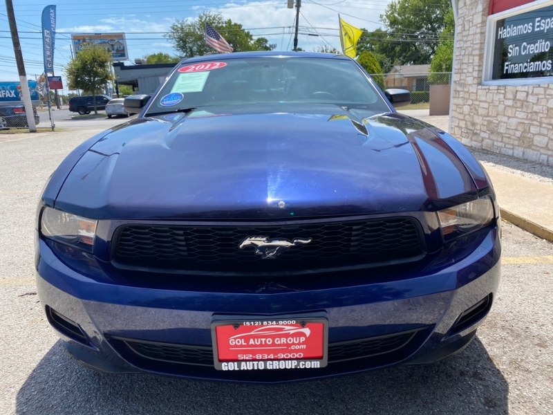 FORD MUSTANG 2012 price $12,990