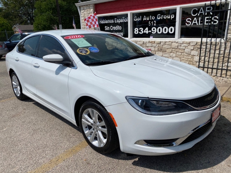 CHRYSLER 200 2016 price $11,990