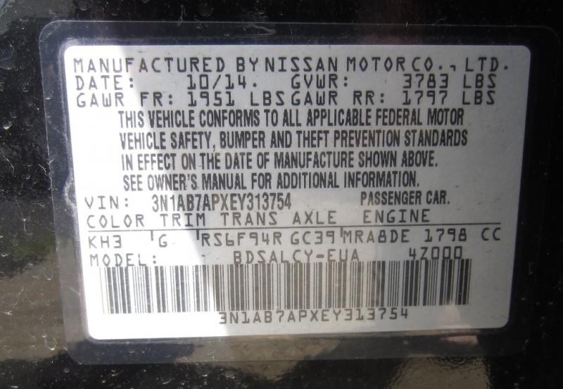 Nissan Sentra 4dr Sport /Only 8K miles 2014 price $11,999