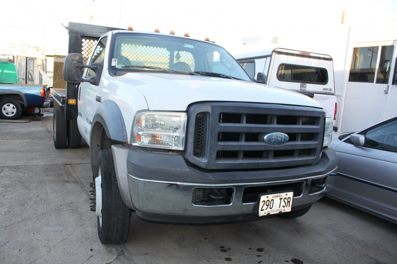 Ford Super Duty F-450 Diesel/Flat bed 2007 price
