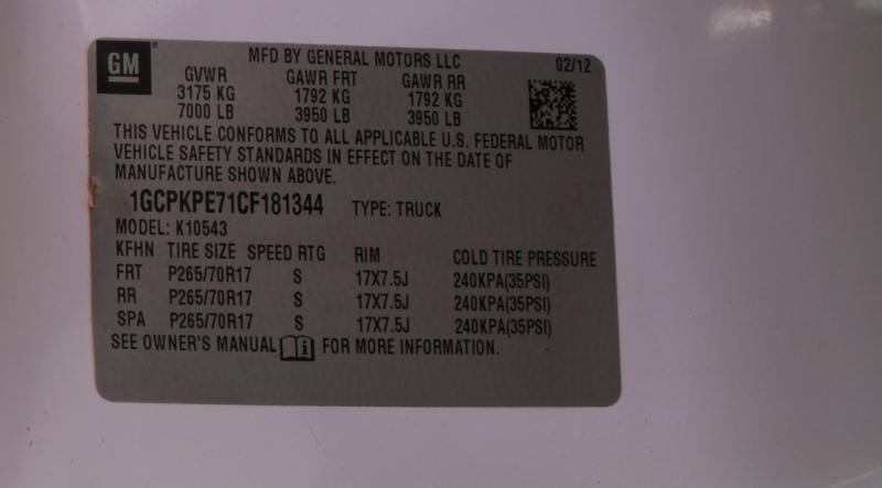 Chevrolet Silverado 1500 2012 price