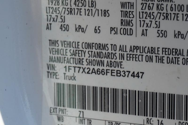 Ford Super Duty F-250 SRW 2015 price $15,750