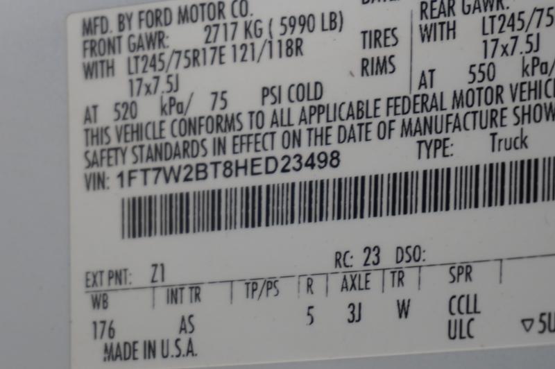 Ford Super Duty F-250 SRW 2017 price $32,950