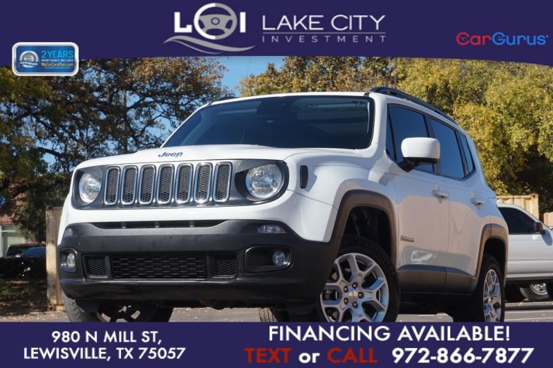 Jeep Renegade 2018 price $18,995