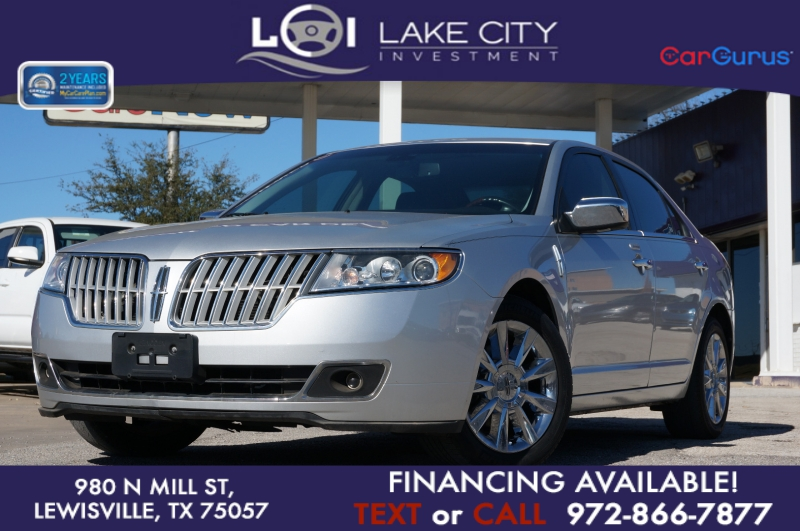 Lincoln MKZ 2012 price $11,750