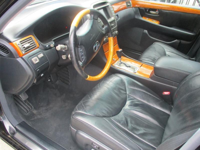 LEXUS LS 430 2001 price