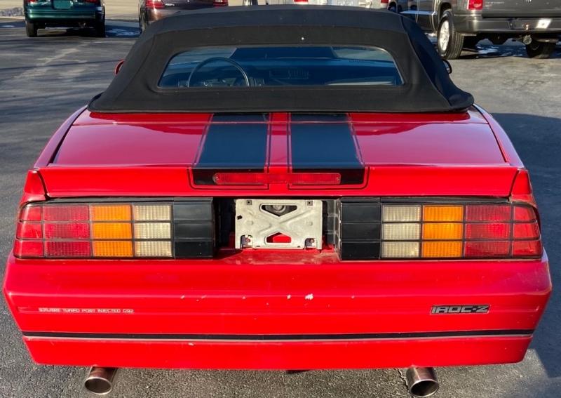 CHEVROLET CAMARO 1988 price $9,999