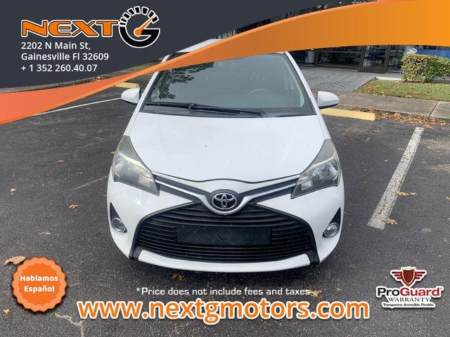 Toyota Yaris 2015 price $8,750