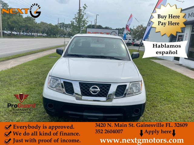 Nissan Frontier King Cab 2015 price $14,990