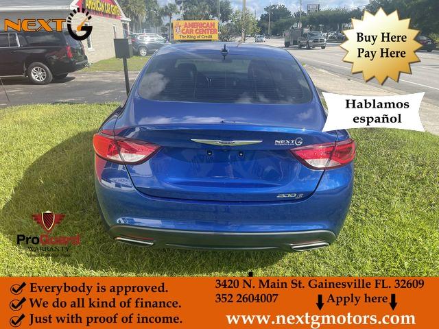 Chrysler 200 2015 price $11,990
