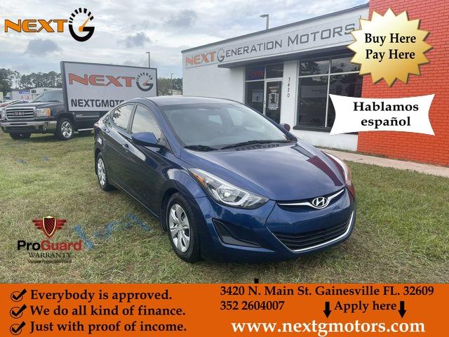 Hyundai Elantra 2016 price $11,400