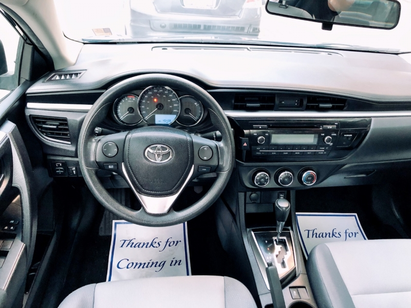 Toyota Corolla 2014 price $13,900