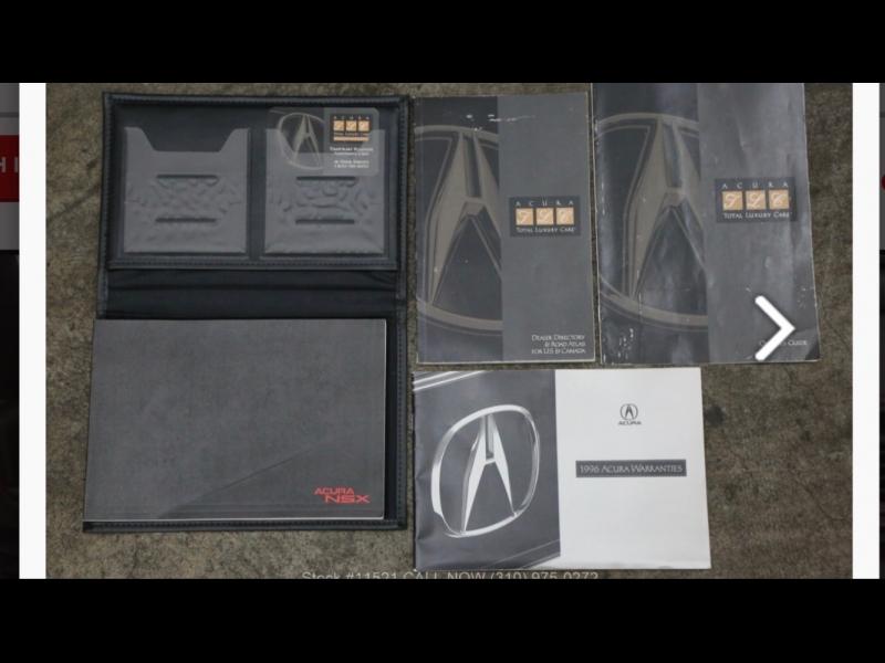 Acura NSX 1996 price $125,000