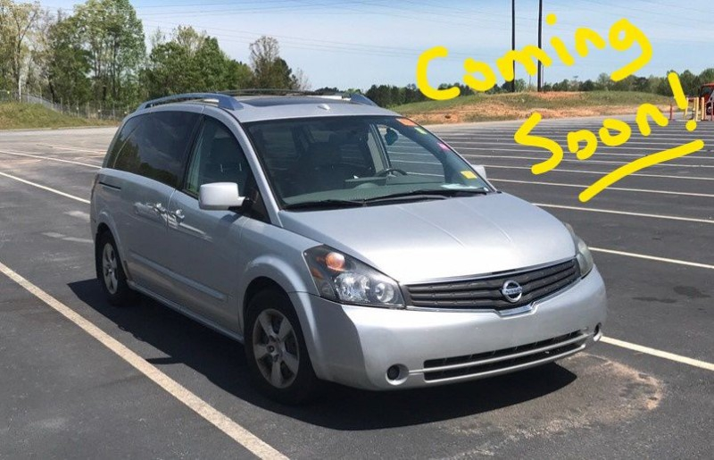 NISSAN QUEST 2007 price $6,998